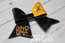 Dinosaur Park Inspired Cheer Bow BIG BOW project ITH